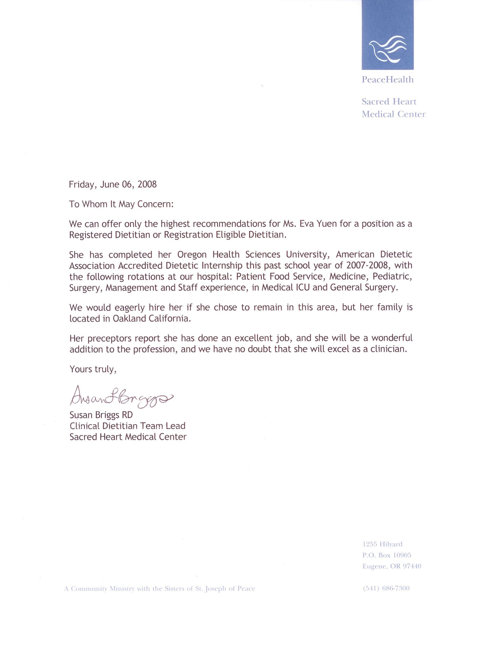Medical Recommendation Letter | Search Results | Write Letter